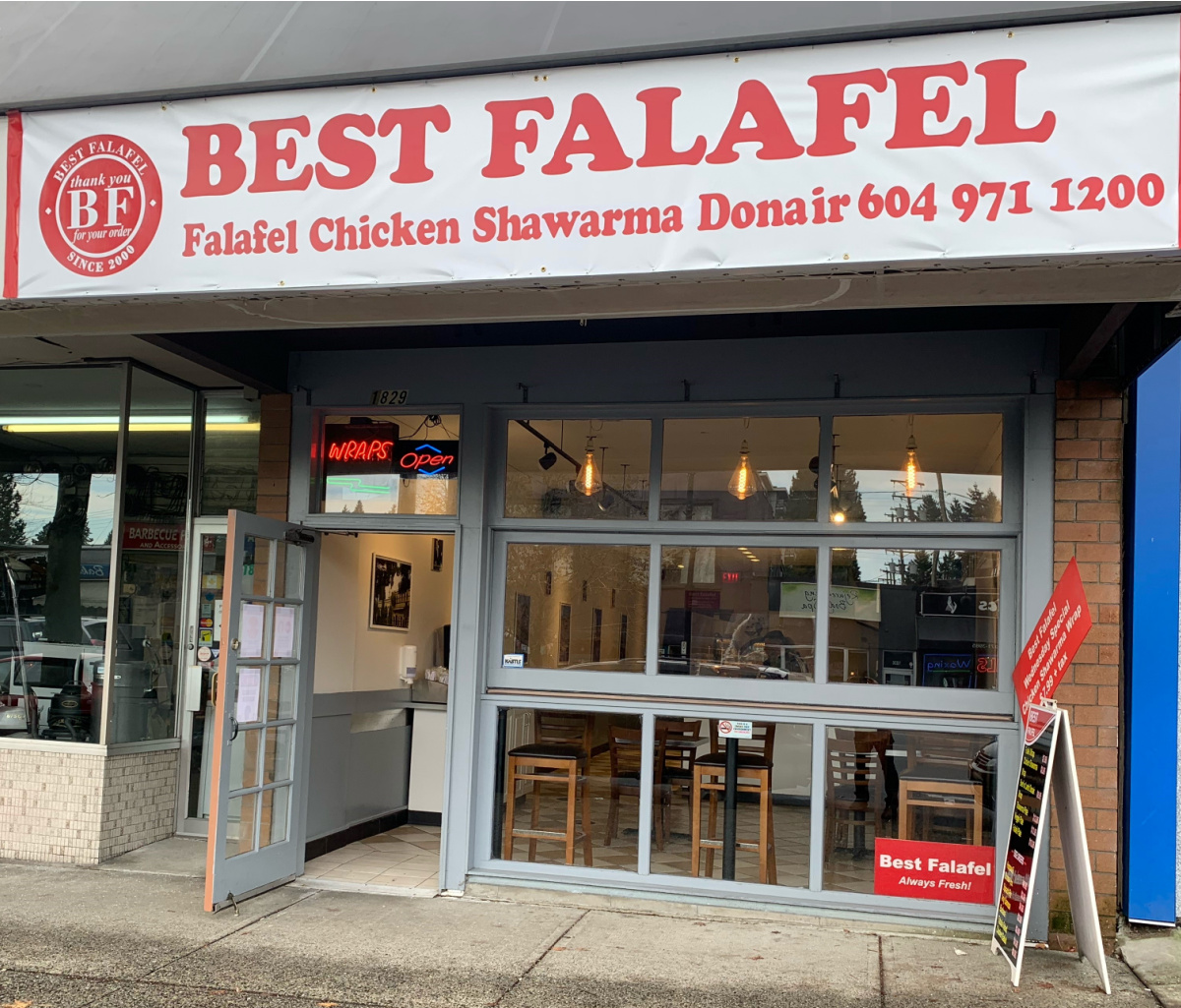 Lonsdale Location Best Falafel Restaurants
